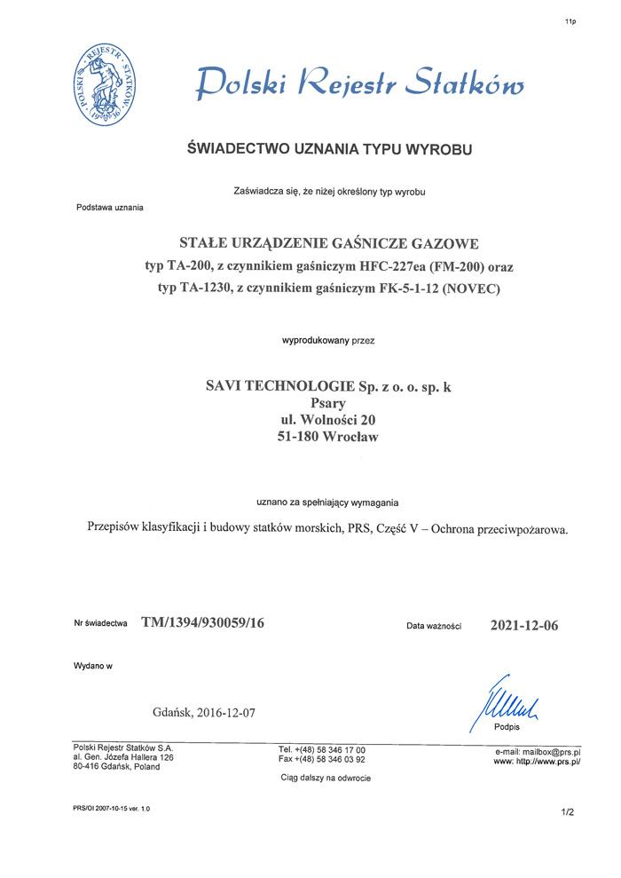 TDT - Upoważnienie do napełniania zbiorników (ważne do 31.10.2018)