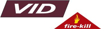 VID fire-Kill logo org. outline